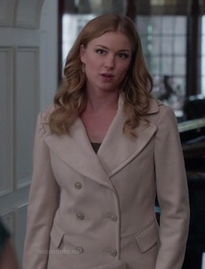 Emily's cream coat on Revenge