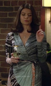 Penny from Happy Endings' dress on HIMYM