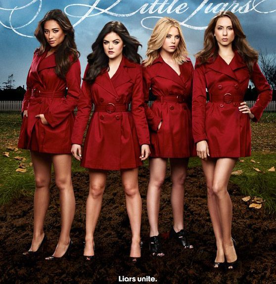 The Pretty Little Liars' red trench coat