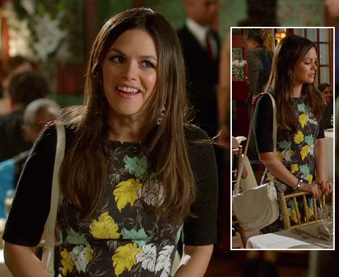 Zoe Hart's white studded bag on Hart of Dixie