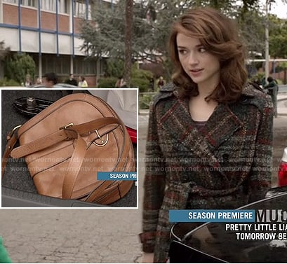 Allison's plaid coat on Teen Wolf