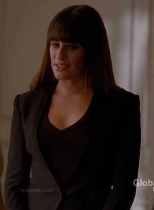 Rachel's black blazer on Glee