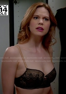 Peri's black and gold bra on Devious Maids