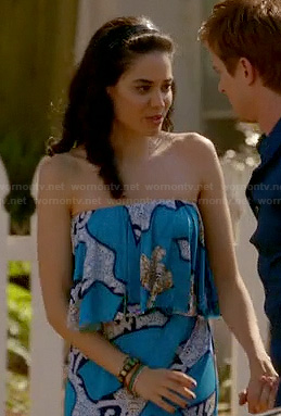 Valentina's blue dress on Devious Maids