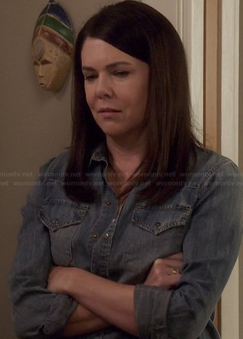 Sarah's denim shirt on Parenthood