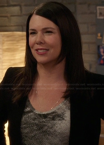 Sarah's graphic print tank top on Parenthood