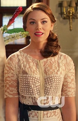 AnnaBeth's white lace dress on Hart of Dixie