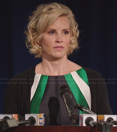 Kristina's green election day dress on Parenthood