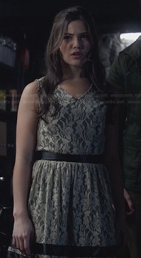 Davina's lace dress on The Originals