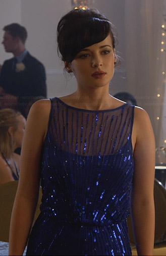 Jenna's blue prom dress on Awkward
