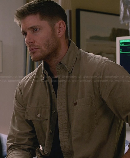 Dean's beige shirt on Supernatural