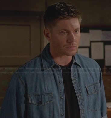 Dean's denim over shirt on Supernatural