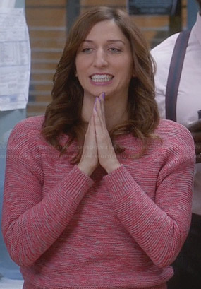 Gina's pink sweater on Brooklyn Nine-Nine