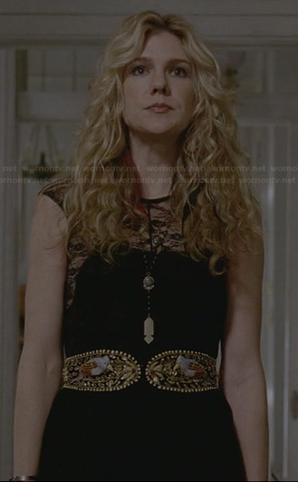 Misty's black lace dress on American Horror Story