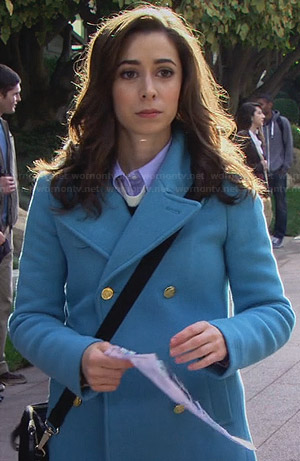 The Mother's sky blue coat on How I Met Your Mother