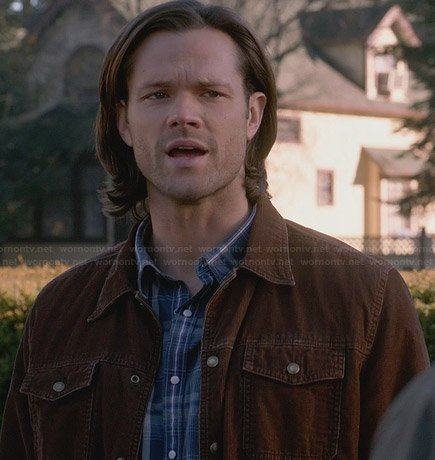Sam's brown corduroy jacket on Supernatural