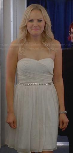 Kate's wedding dress on Trophy Wife