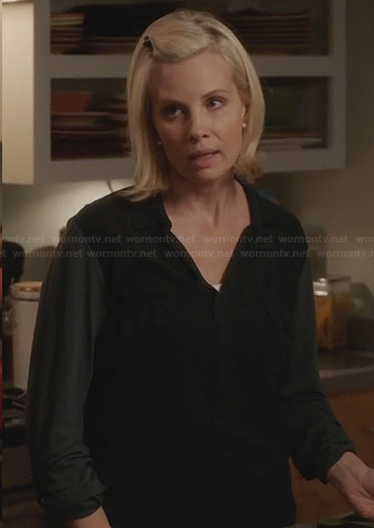 Kristina's black shirt on Parenthood