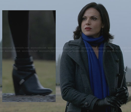 Regina's grey coat on Once Upon a Time