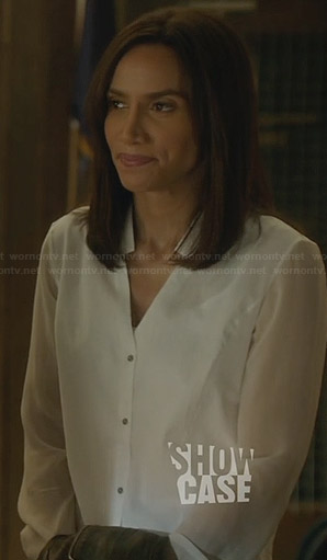 Tess's white blouse on BATB