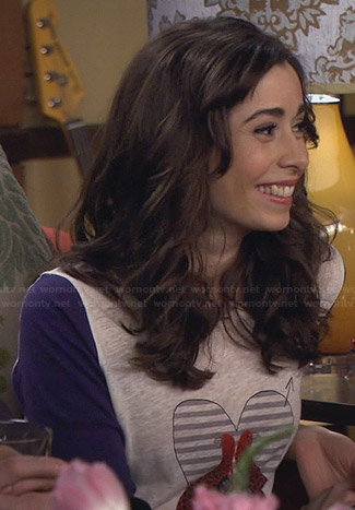 The Mother's love bird tee on How I Met Your Mother