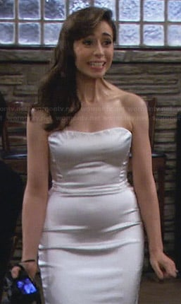 The Mother's wedding dress on How I Met Your Mother