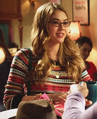 Rose's fair isle sweater on Hart of Dixie
