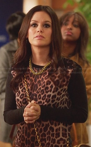 Zoe's leopard print sweater on Hart of Dixie