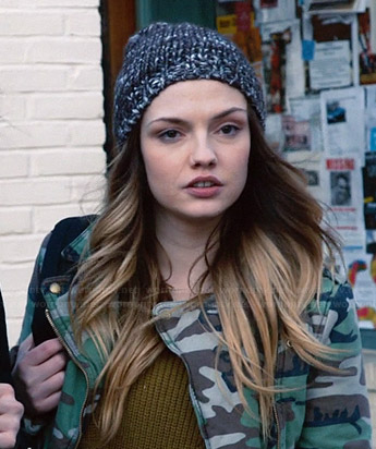Aimee's camo jacket on The Leftovers
