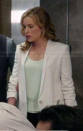 Annie's white blazer on Covert Affairs
