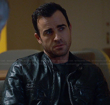 Kevin's leather jacket on The Leftovers