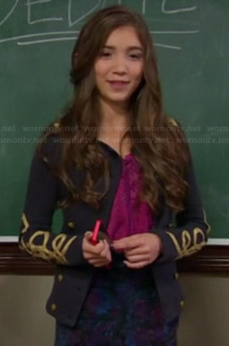 Riley's blue military jacket on Girl Meets World