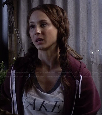 """Spencer's """"Naked"""" tee on Pretty Little Liars"""