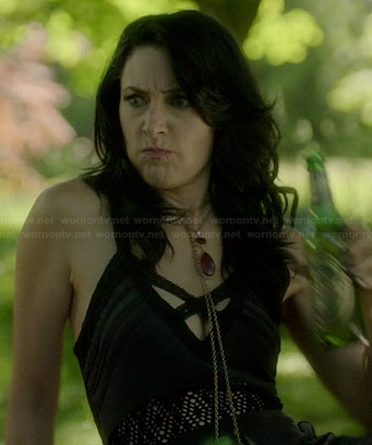 Wendy's cross strap maxi dress on Witches of East End