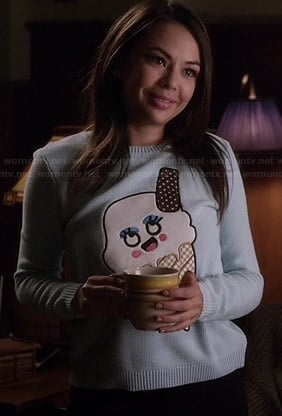 Mona's ice cream sweater on Pretty Little Liars