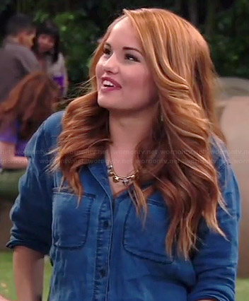 Jessie's denim shirt on Jessie