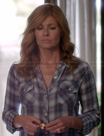 Rayna's blue plaid shirt on Nashville