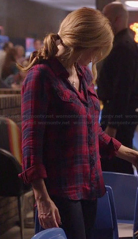 Rayna's red plaid shirt on Nashville