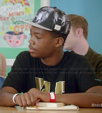 Dash's wolf hat on Red Band Society