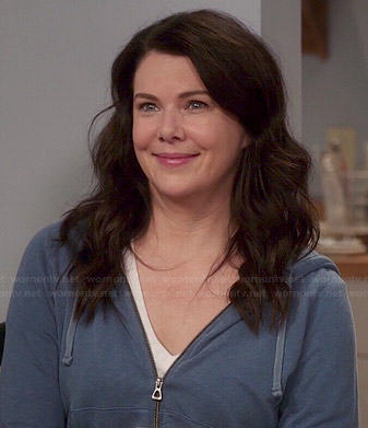 Sarah's blue hoodie on Parenthood