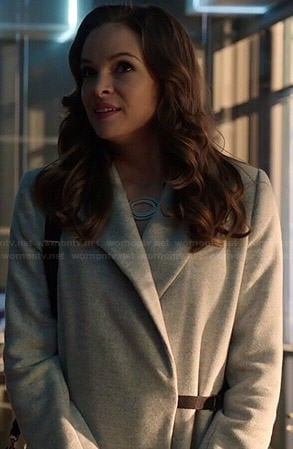 Caitlin's grey coat on Arrow
