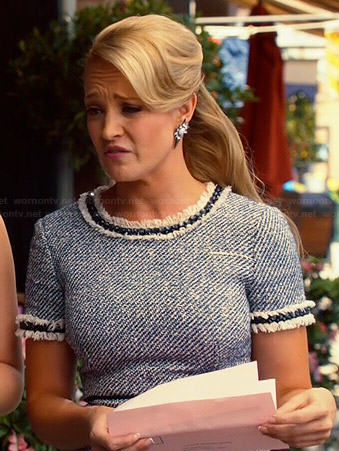 Crickett's tweed dress on Hart of Dixie