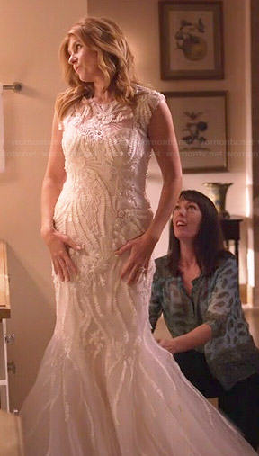 Rayna's wedding dress on Nashville