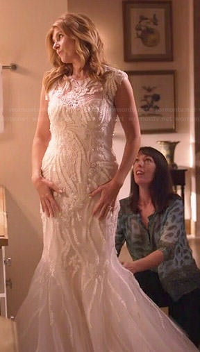 Wornontv rayna s wedding dress on nashville connie for Nashville wedding dress shops