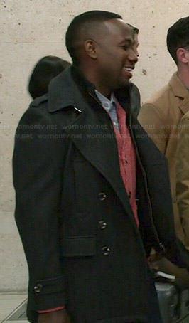 Winston's grey coat on New Girl