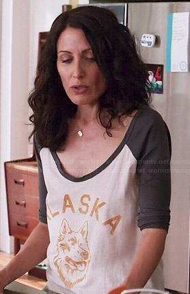 Abby's Alaska tee on Girlfriends Guide to Divorce
