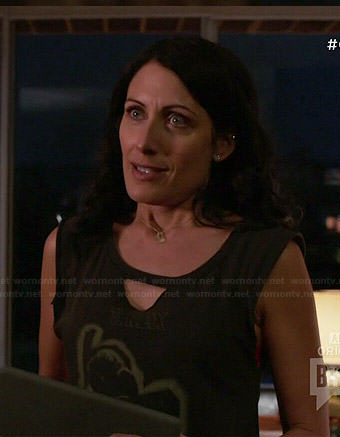 Abby's T. Rex tee on Girlfriends Guide to Divorce