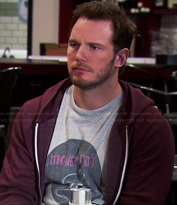 Andy's Mouse Rat tee on Parks and Recreation