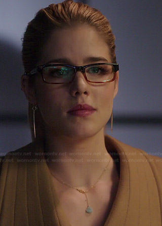 Felicity's jewelry on Arrow