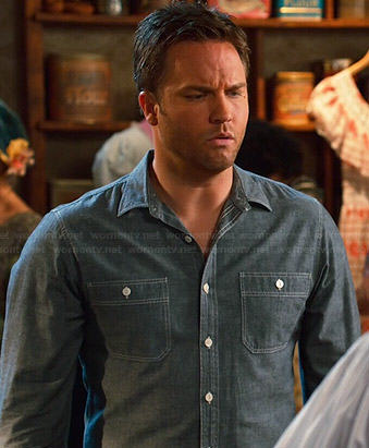 George's chambray shirt on Hart of Dixie